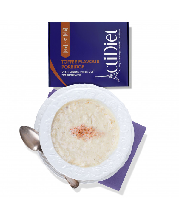 7 Toffee Flavour Porridge
